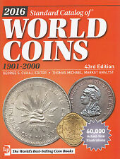Lanz Cuhaj standard Catalog of World Coins 1901 to 2000 43rd Edition ~ a6