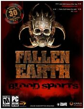 Fallen Earth Blood Sports PC Games Windows 10 8 7 XP Computer online rpg fps NEW