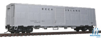 Walthers 920-17284 HO 50' PS NYC-Style Express Boxcar ROCK ISLAND #4231