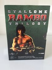 DVD.RAMBO TRILOGY.FIRST BLOOD.STALLONE