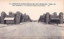 ORIGINALE 1925 Parigi Exposition des Arts decoratifs cartolina Art Deco.