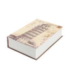 Medium Fake Book English Dictionary Book Safe Box Storage Box Password Lock
