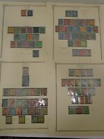 ANTIQUE STAMP COLLECTION - STAMPS FROM SWEDEN LOT