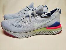 Nike Men's React Flyknit Epic P27 Hydrogen Blue Hyper Pink 12(BQ8928 453)