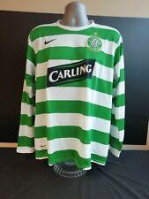 b5e260cb5 Celtic Home Football Shirt 2007-2008 Large Nike -Vintage - Retro - Long  Sleeve