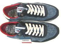 Tommy Hilfiger Sneaker Schnürer Denim Lifestyle Sneaker blau  Gr. 42 2018