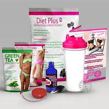 FAST WEIGHT LOSS JUICE SLIMMING PACK - FAT BURNERS - SLIM DIET POWDER PLUS