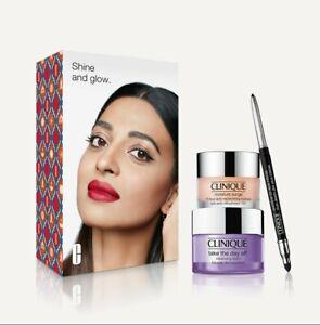 Clinique BNIB Shine and Glow Essentials Set