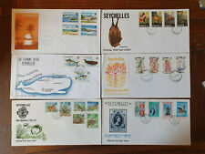 More details for the seychelles - 16 first day covers 1978 to 1982 - stamps - f to ex