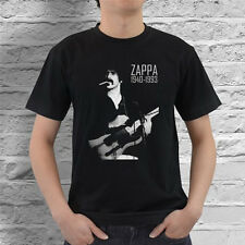 FRANK ZAPPA 1940-1993 GUITAR MUSICIAN #1 BLACK BAND T-SHIRT  Black Size S-2XL
