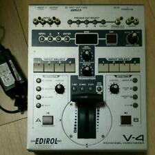 Roland EDIROL V-4 4ch Video Mixer Switcher VJ Controller Correctly working