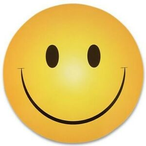 100 SMILEY SMILE HAPPY FACE MAGNETS wholesale lot    :)