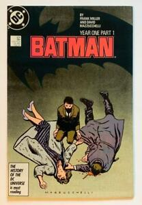 Batman #404 to #407 Year One all 4 parts. 1st printings. (DC 1987)