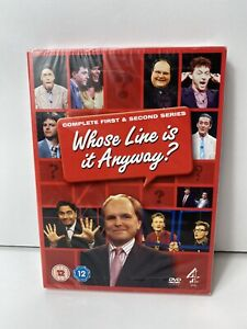 Whose Line Is It Anyway? Complete First & Second Series (1 & 2) Brand New R2