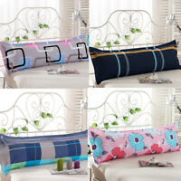 1X Fashion Bed Long Body Pillow Cover Protector Pillowcase 1.2/1.5m Dust Large