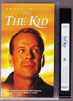 Disney's The Kid VHS Bruce Willis Video Tape Vintage