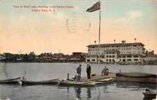 Asbury Park New Jersey Loch Harbor Hotel Deal Lake Antique Postcard K78443
