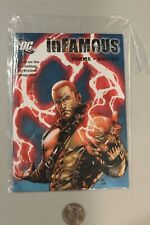 Infamous 2 Hero Edition Comic Mini DC PROMO Giveaway VARIANT Red PlayStation PS3