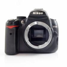 * Nikon D5000 12.3MP Appareil Photo Reflex Numérique-Noir (corps seulement) * Pièces de rechange ou réparation *