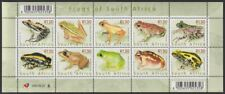 SOUTH AFRICA - 2000 Frogs of South Africa sheetlet (MNH)