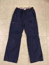 Koi Lindsey Cargo Scrub Pants Navy Blue Xs