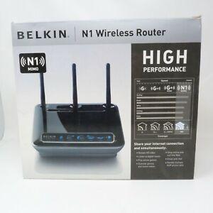 Belkin N1 Wireless ADSL Modem Router N1 MIMO