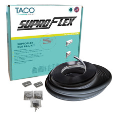 "TACO SUPROFLEX SMALL RUB RAIL KIT 1-19/32"" X 25/32""  # V11-9960BBK60-2"