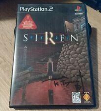 Forbidden Siren NTSC Jap Signed Keiichirō Toyama Firmato PS2 Collezione Rarità