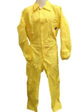 Coverall Flying Suit - Oxford Nylon - Yellow - Size Small Only