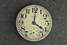 "VINTAGE 16 SIZE ""RIVERSIDE"" WALTHAM O.F. POCKET WATCH MOVEMENT - NOT RUNNING"