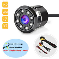 170° Car Rear View Camera Reverse Backup Parking Waterproof Night Vision 8 LED