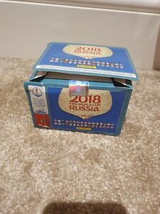 Panini Russia 2018 World Cup sticker box -104 packs -(Pink backs) find Mbappe! H