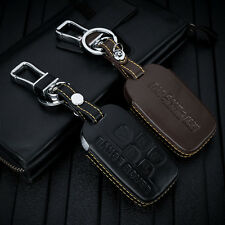 leather key case for LAND ROVER range rover discovery 4 evoque freelander 2