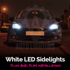 Renault Clio MK2 MK3 1998-2006 Xenon White LED Sidelight Bulbs Canbus *SALE*