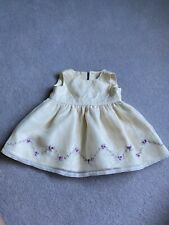 Beautiful Baby Girl Marks And Spencer Dress Party Bridesmaid 3-6 Months