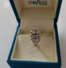 Diamantring, 1.00 Karat Brillanten  SI/G, 585/14K Weißgold + Zertifikat