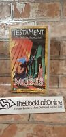 Testament: The Bible in Animation - Moses VHS Video Tape Cassette TBLO