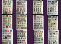 Stamp Collection Netherlands British Colonies India Pakistan Bangladesh & The US