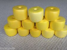 12 Pack of Yellow Crab Pot Floats Lobster Shrimp Minnow Fish Trap Marker Buoy