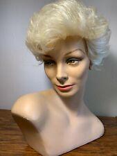 FAB Vintage  60's  70's Chalk Female Mannequin Head Heironimus  Store Display
