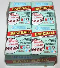 36 SEALED PACKS DONRUSS 1991 SERIES 2 MLB BASEBALL TRADING CARDS puzzle