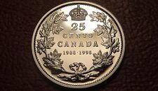 1908-1998 Canada PROOF SILVER 25¢ Coin – RARE MIRROR Finish Canadian Quarter