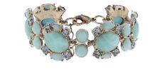 Accessorize, Gold Tone Giada Floreale & Crystal bracelet