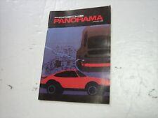 PORSCHE PANORAMA MAGAZINE Jan 1988 911 Racing Exterior Maintenance 924 Carrera