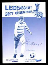 Willibert Kremer Autogrammkarte MSV Duisburg Original Signiert+A 119618