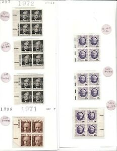 Mint USPS Postage - Mixed! Various Vintage Stamps - 6 Values, 58 Stamps - MNH