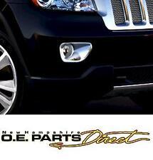 2011-2014 Jeep Grand Cherokee Chrome Fog Light Bezels, Mopar OEM  82212341AB