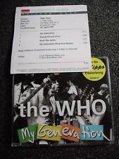 The Who-My Generation Maxi CD+Promosheet-