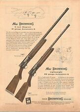 Vintage 1953 mag. ad 114 for Browning Automatic-5, 12 ga. and 20 ga. shotguns