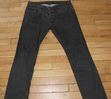 KAPORAL 5  Jeans pour Homme  W 34 - L 34 Taille Fr 44 NOIR KHOL (Réf S227)